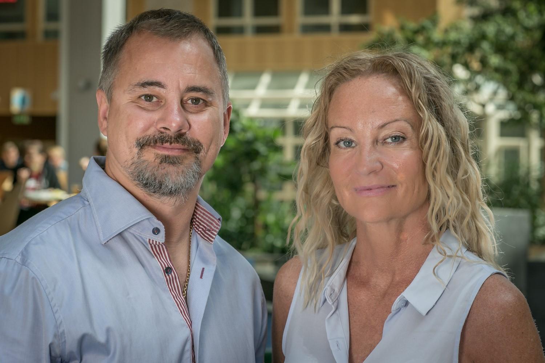 Patrik Johansson och Jeanette Grönlund